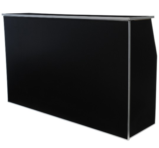 Bar 4 ft Wood - Black