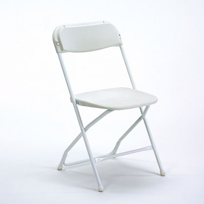 Samsonite Chair - Wedding White