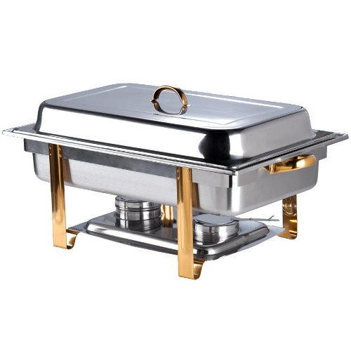 Chafer with Gold Trim - Oblong