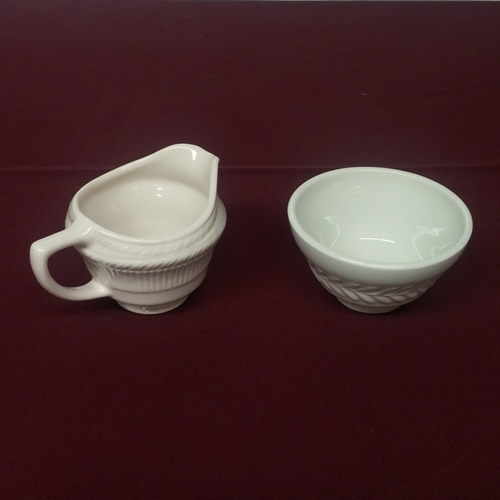 Karlton Creamer and Sugar Bowl