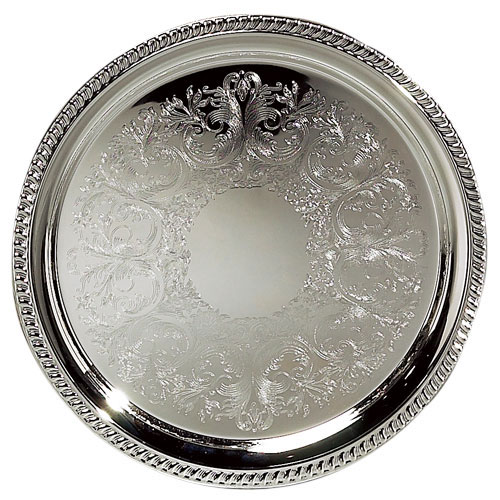 Silver Tray - Round
