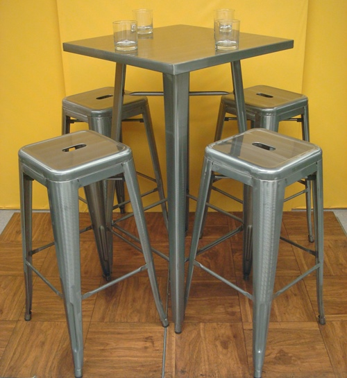 Pedestal Table - Bar Height