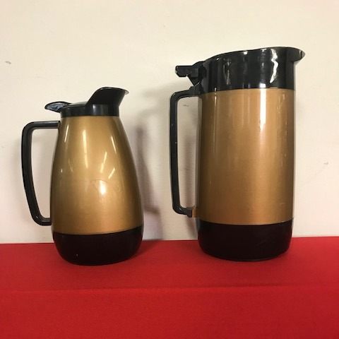 Coffee Server - Retro Gold & Black